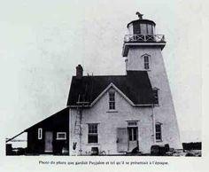 Ile aux Perroquets Lighthouse, Quebec, Canada