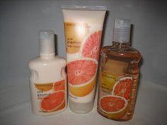 Bath  Body Works Pink Grapefruit body cream lotion  shower gel set * For more information, visit image link.