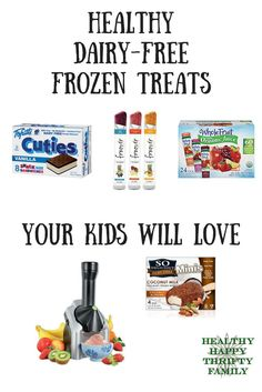 My littlest can't eat dairy, so I've searched far and wide for dairy-free treats…