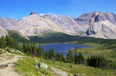 Skoki Backpack 257 Hiking a Loop Trail in the Skoki Area, Banff National Park