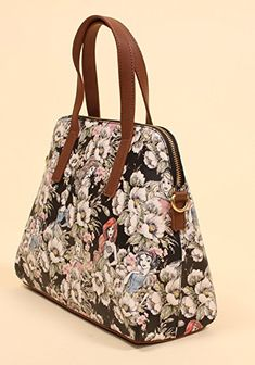 Disney Discovery- Loungefly x Disney Princesses Faux Leather Floral Sketch Bag