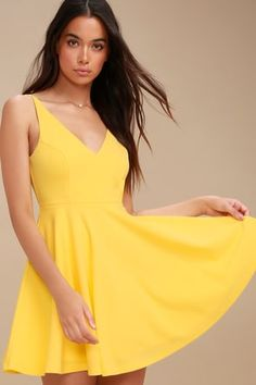 cb50e453021 30 Top Clothing-Yellow-Dresses images in 2019