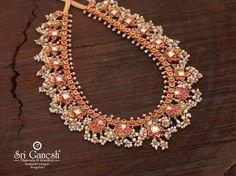 India Jewelry, Temple Jewellery, Gold Jewelry, Beaded Jewelry, Jewelery, Hyderabadi Jewelry, Indian Jewellery Design, Bling Wedding, Clipboard