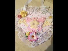 shabby chic heart decorations - Google Search