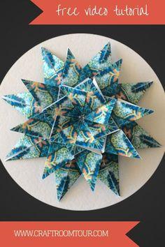 teabag folding turquoise