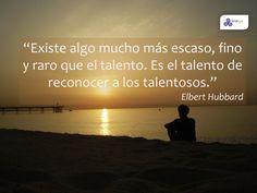 Reconocer el talento de los demás