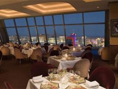 Alizé at the Palms | VEGAS.com - view and a little nicer price range.  Could do dinner here, then ghostbar