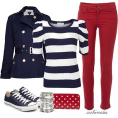 Patriotic, created by archimedes16 on Polyvore
