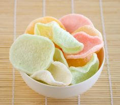 Shrimp Chips, also called prawn crackers, are colorful fried chips often served at Chinese and Vietnamese restaurants as decor with dishes like crispy duck. They have a slight sea/shrimp flavor and are usually made with a little food coloring for appeal. The chips are actually something you can easily make at home. You can find …