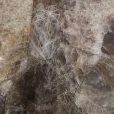 Polished European Smokey Quartz natural stone