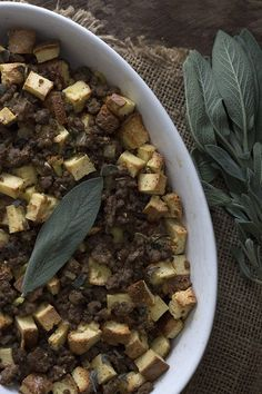 Traditional Thanksgiving bread stuffing with sausage and sage gets a healthy, low carb makeover! Soul bread makes a great base for any stuffing or dressing you want. Low Carb Stuffing, Stuffing Recipes, Ketogenic Recipes, Low Carb Recipes, Cooking Recipes, Keto Foods, Low Carb Bread, Keto Bread, Healthy Weekend Meals