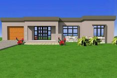 Rondavels on pinterest south africa house design plans for Modern rondavel house plans