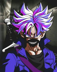 Dc Anime, Anime Demon, Jordan Logo Wallpaper, Trunks Dbz, Bape Wallpapers, Naruto And Sasuke Wallpaper, Angel Pictures, Creepy Art, Dragon Ball Gt