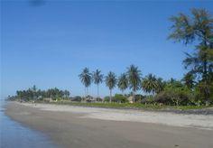 Un sitio paradisiaco la Playa El Espino, en el Departamento de Usulutan, El Salvador