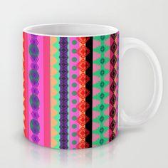 Tribal Stripe Mug + free shipping ends 26/1/2014
