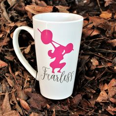 A personal favorite from my Etsy shop https://www.etsy.com/listing/488926822/fearless-female-custom-mug-one-of-a-kind