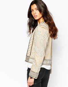 Image 2 ofA Star Is Born Allover Luxe Embellished Trophy Jacket