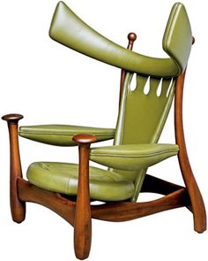 Chifruda chair (1962), by Sergio Rodrigues. Brazilian designer