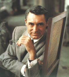 The man who wasn't there, Cary Grant. Neither Cary nor Grant, he was born as Archie Leach in Bristol. Life as performance.