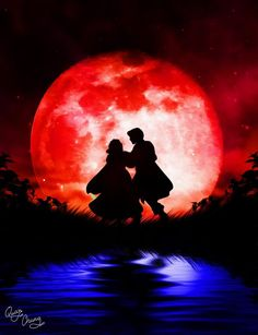 Disney Silhouette: Snow White and the Prince