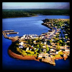 #Aerial of #Digby #NovaScotia. #Canada #Maritime #Vacation #NS #Travel #PicoftheDay #Beautiful #Summer #Getaway Nova Scotia, Resort Spa, Aerial View, Beautiful Homes, Canada, River, Vacation, Instagram Posts, Summer