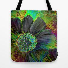 Wonderment of Flora Tote Bag by Rokin Art by RokinRonda - $22.00
