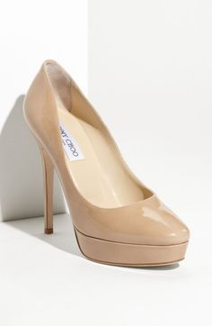 Free shipping and returns on Jimmy Choo 'Cosmic' Platform Pump at Nordstrom.com. High-shine patent leather shapes an unerringly chic platform pump perched atop a slender wrapped heel.