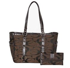 Concealed Carry Signature Tote Gun Purse with Matching Wallet (Brown) Cleto http://www.amazon.com/dp/B00S0C76T8/ref=cm_sw_r_pi_dp_8oOtwb1C62KTN