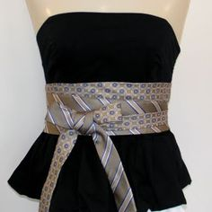 MUST figure out how to make these...recently inherited a bag of ties, and want to use them!  SO cute!