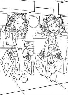Groovy Girls Målarbilder för barn. Teckningar online till skriv ut. Nº 31