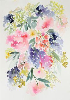 Meadow // Yao Cheng // Floral Watercolour Design