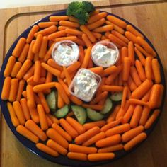 Pumpkin snack made from carrots!