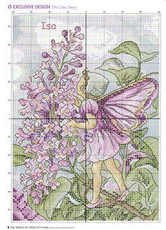 delicate lilac fairy 3/4
