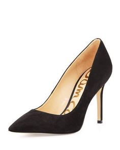 65aec3b0c Sam Edelman Hazel Pointed-Toe Suede Pump