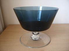 VINTAGE CAITHNESS GLASS FRUIT BOWL IN LOCH..DOMHNALL O`BROIN 1961   eBay