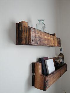 DIY Shelves from old pallets