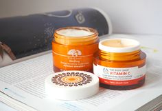 London Beauty Queen: Two Brands, Two Budgets: Origins GinZing Vs The Body Shop Vitamin E 'Boosting' Moisturisers