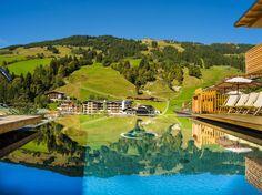 Hotelbilder & Videos - 4-Sterne-Superior Hotel Alpin Juwel Saalbach Hinterglemm Ayurveda, Superior Hotel, Video 4, Golf Courses, Vacation, Pictures