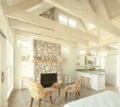 38 Fabulous Small Cottage Homes Interior Ideas - Cottages are not just little houses built for vacationing. Modern cottages are exciting homes that make superior use of their interior space. Style Cottage, Cozy Cottage, Romantic Cottage, Rustic Cottage, Coastal Cottage, Coastal Entryway, Coastal Farmhouse, Small Cottages, Cabins And Cottages