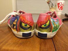 Hand painted Zelda shoes.