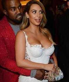 "Kim Kardashian Goes Topless In Kanye West's ""Bound 2"" Music Video"
