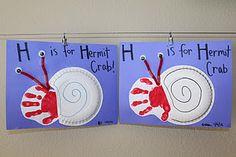 H is for hermit crab and other G and H ideas