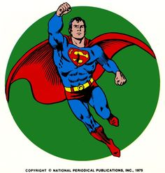 The upper left hand corner icon used for Superman Comics, circa 1971, replacing the DC Bullet.