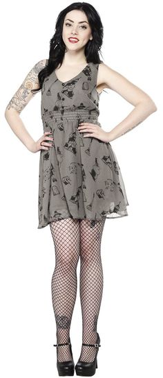 SOURPUSS SALEM DRESS - Sourpuss Clothing