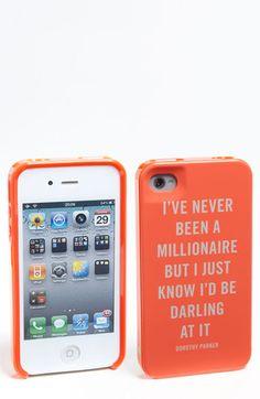 HAHA! Cutest iphone case ever!