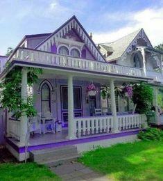 Purple house (72 pieces)