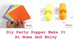 Diy Party Popper Make It At home And Enjoy