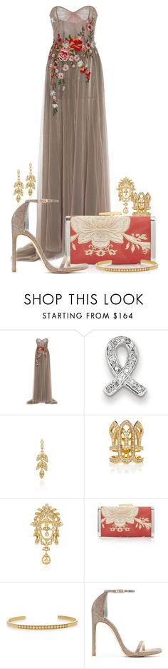 """My Fantasy Wardrobe"" by neuroticfashionplate ❤ liked on Polyvore featuring Georges Hobeika, Kevin Jewelers, Yvonne Léon, Colette Jewelry, Hayward and Stuart Weitzman"