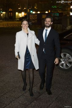 Prince Carl Philip and Sofia attended a Christmas concert which was held in a church in Stockholm.