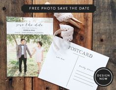 Free photo save the date. #weddingchicks http://www.weddingchicks.com/2014/06/26/black-and-white-wedding-ideas/